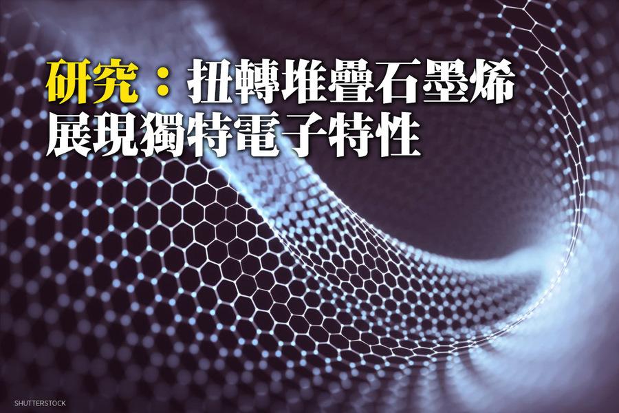 研究:扭轉堆疊石墨烯展現獨特電子特性