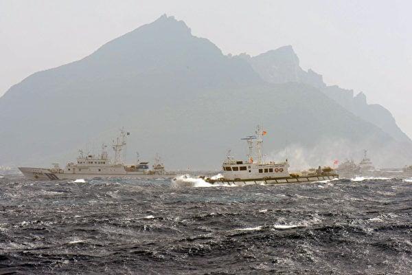 中共海警船衝撞日本巡邏艦 日本啟動十萬兵力軍演
