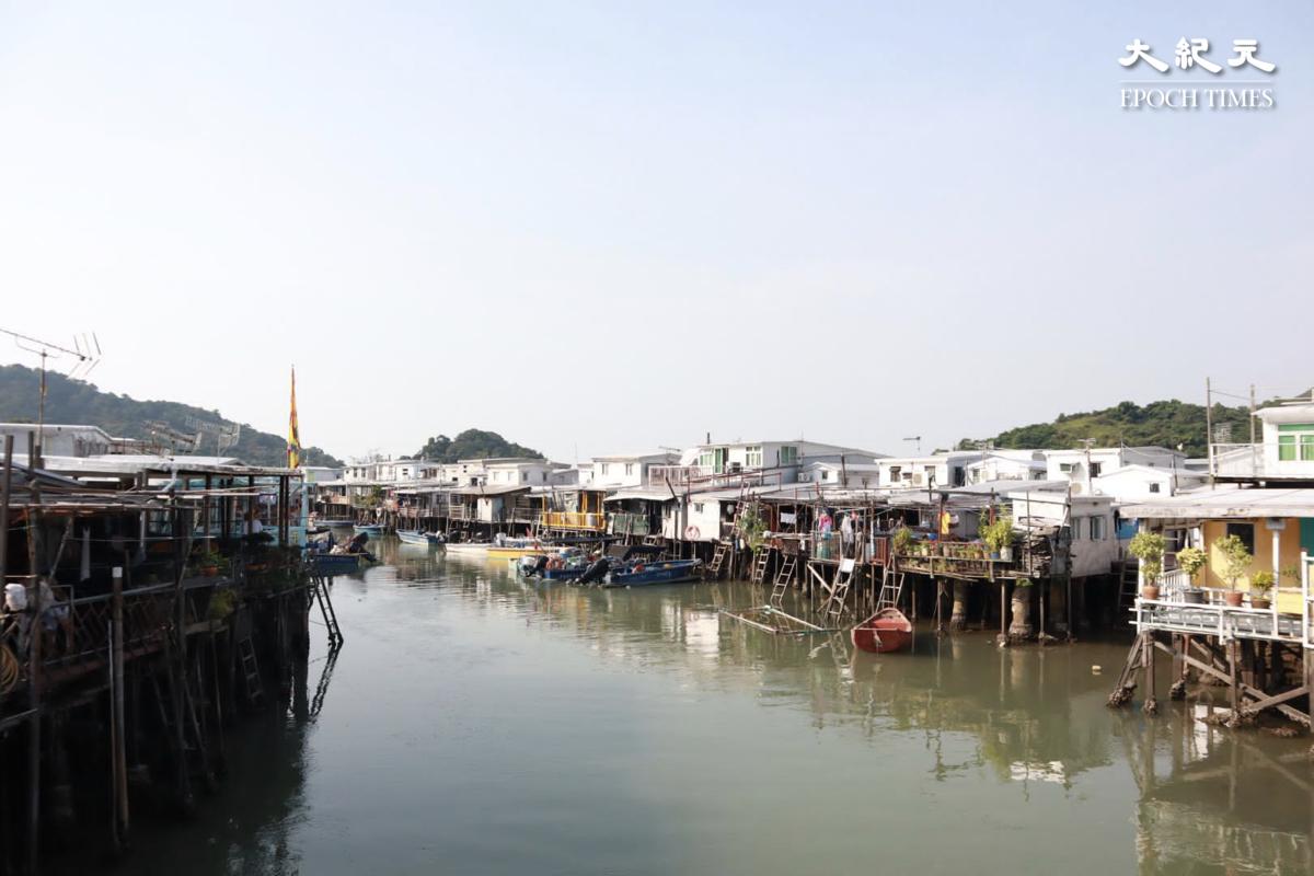 打卡點1:香港水鄉 ——大澳的特色棚屋。(樂賢/大紀元)