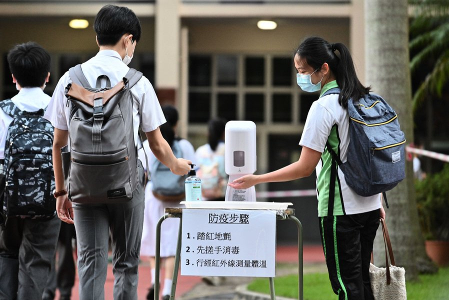 教育局調整全日面授課條件 12至17歲打一針可計入七成人數
