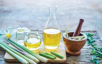檸檬香茅精油能夠幫助身體排毒。