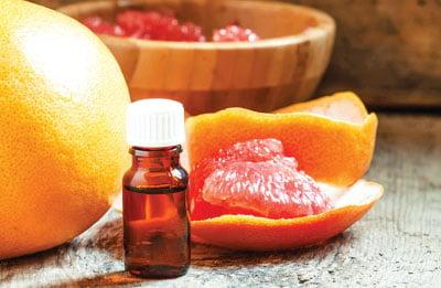 葡萄柚精油是能幫助身體平衡的精油。