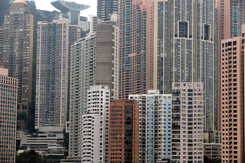 中原城市領先指數CCL今(9月17日)公布截至9月12日,香港樓價一周下跌0.33%。(MIKE CLARKE/AFP via Getty Images)