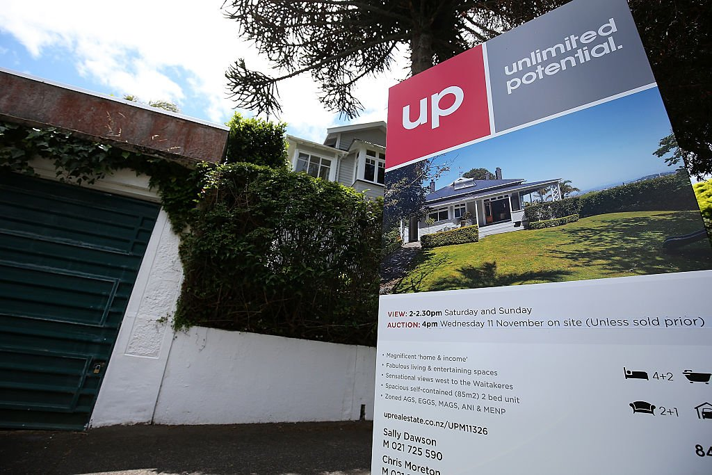 紐西蘭REINZ於本周公布8月份全國樓價按月上升3.0%,按年升25.5%。(Fiona Goodall/Getty Images)