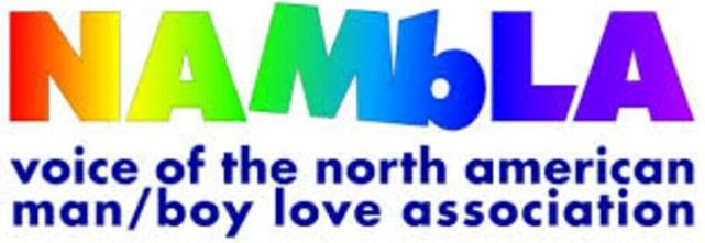 NAMBLA是戀童癖組織的英文代號。(維基百科)