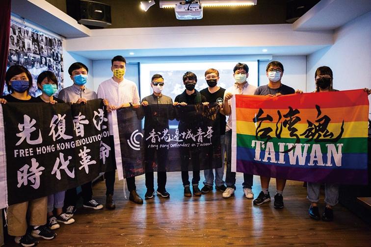 香港邊青在台立案  協助在台港人融入台灣