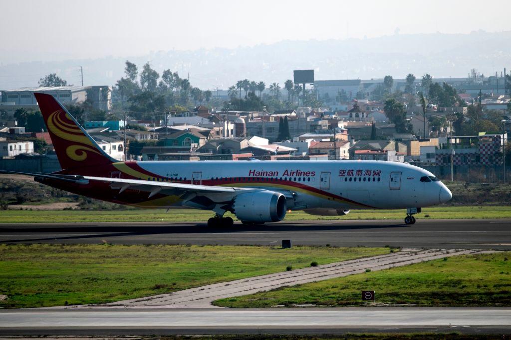 近日,海航競購戰落幕,被外界認為最不懂航空業的遼寧方大集團勝出,出乎外界意料。圖為海航飛機。(GUILLERMO ARIAS/AFP via Getty Images)