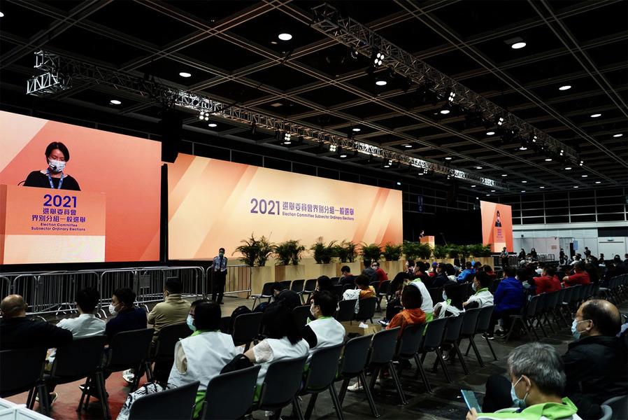 選委會民建聯取150多席 「非建制」狄志遠靠抽籤當選