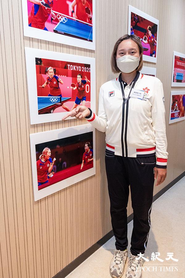 東奧港隊乒乓球女子團體賽銅牌得主蘇慧音形容自己在東奧應戰時豁了出去,全情投入,進入了忘我境界,所以才有如此的好表現,連自己也意想不到能有如此的發揮。(明朗/大紀元)