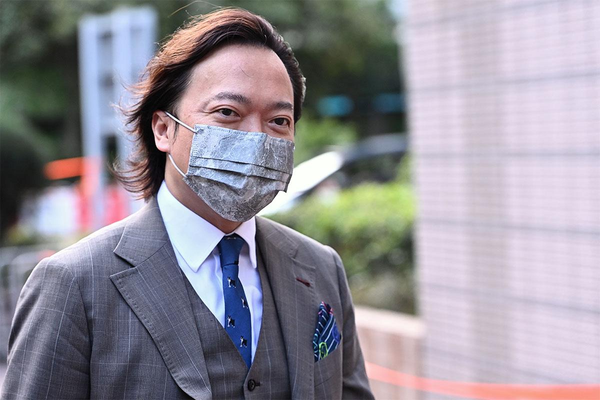 47人案被告之一、大律師劉偉聰。(宋碧龍/大紀元)
