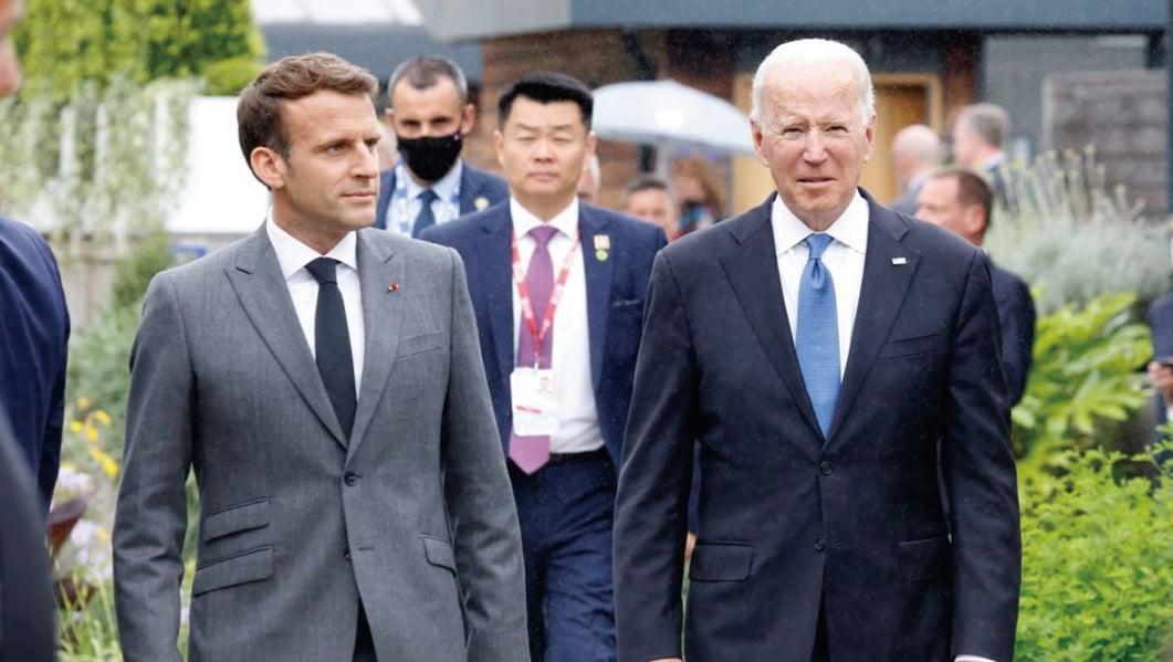 法駐美大使下周重返華府