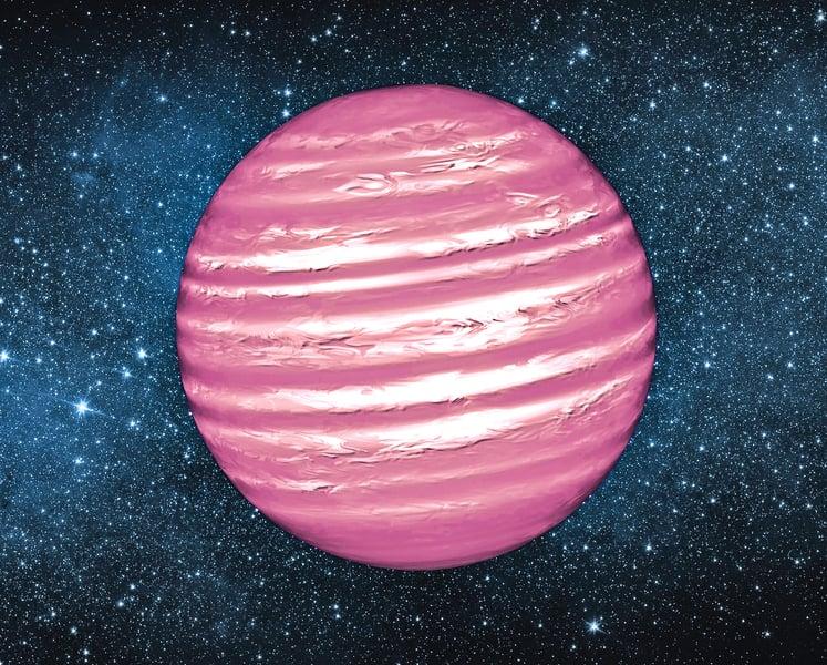 是棕矮星還是恆星?新發現五顆星體介於其間