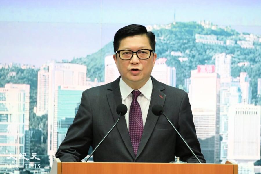 鄧炳強稱普通市民出席六四晚會不違法