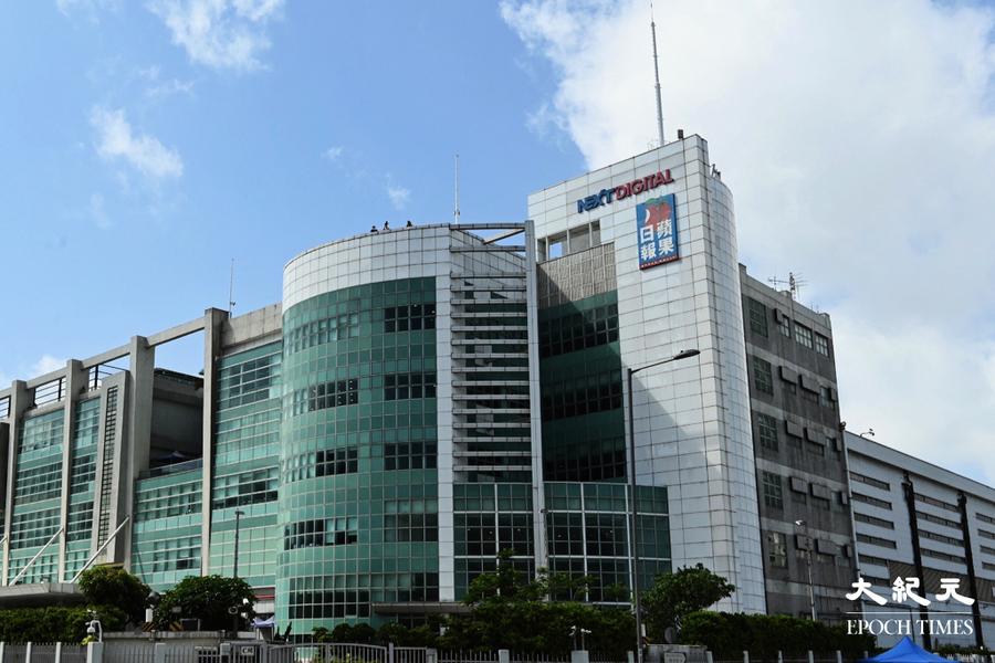 壹傳媒審查員取得法庭搜查令 今到壹傳媒大樓搜證