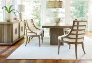 SYNCHRONICITY系列傢俬, 帶著加州海岸建築風格的休閒現代組合。(MJM Furniture)