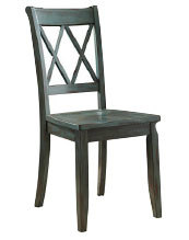 Mestler Blue系列餐椅。(MJM Furniture)