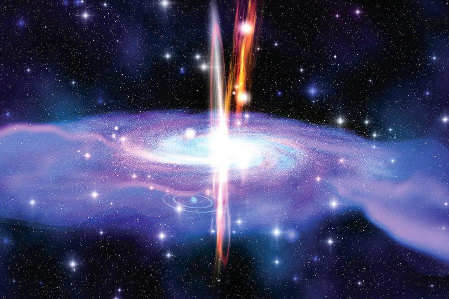 宇宙中為何瀰漫著伽馬射線? 科學家解開謎團
