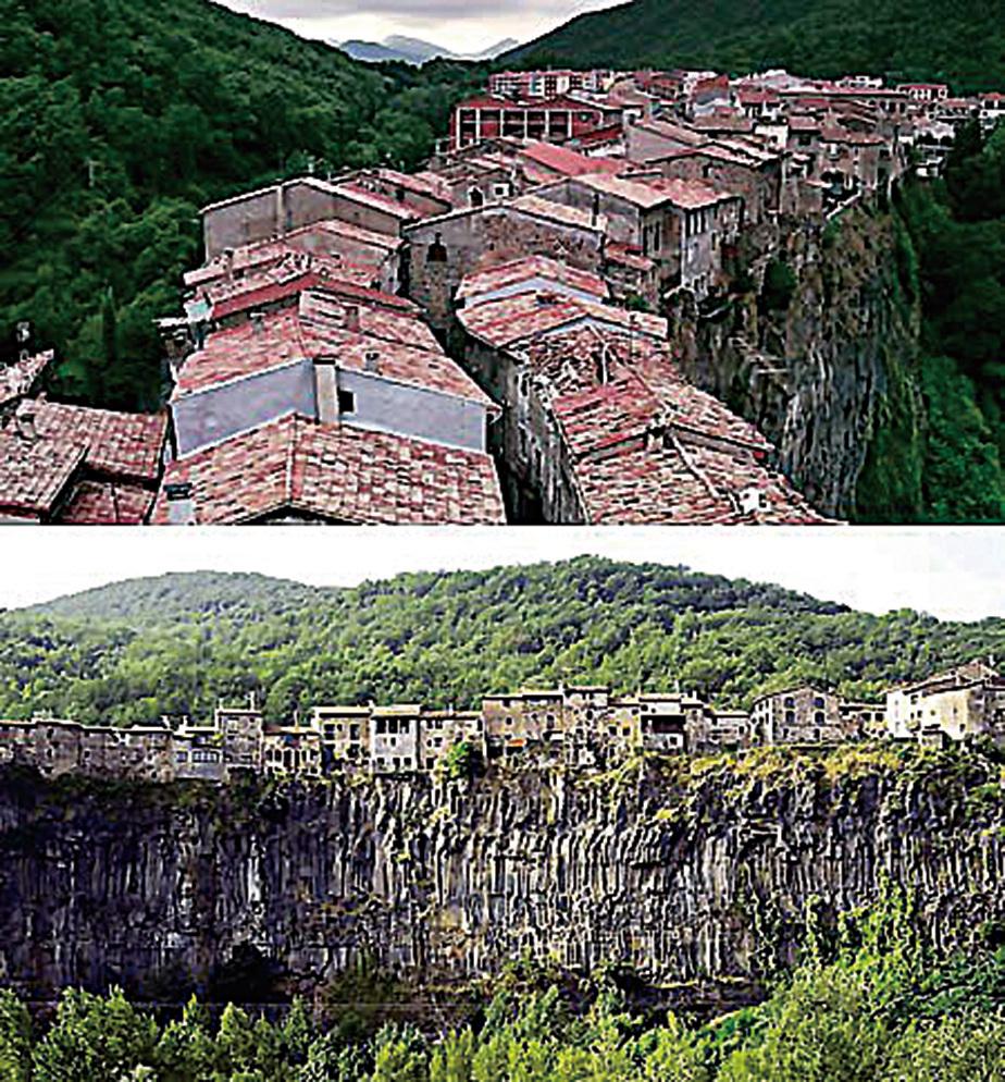 西班牙德拉薩貝格羅卡鎮。(網絡圖片)