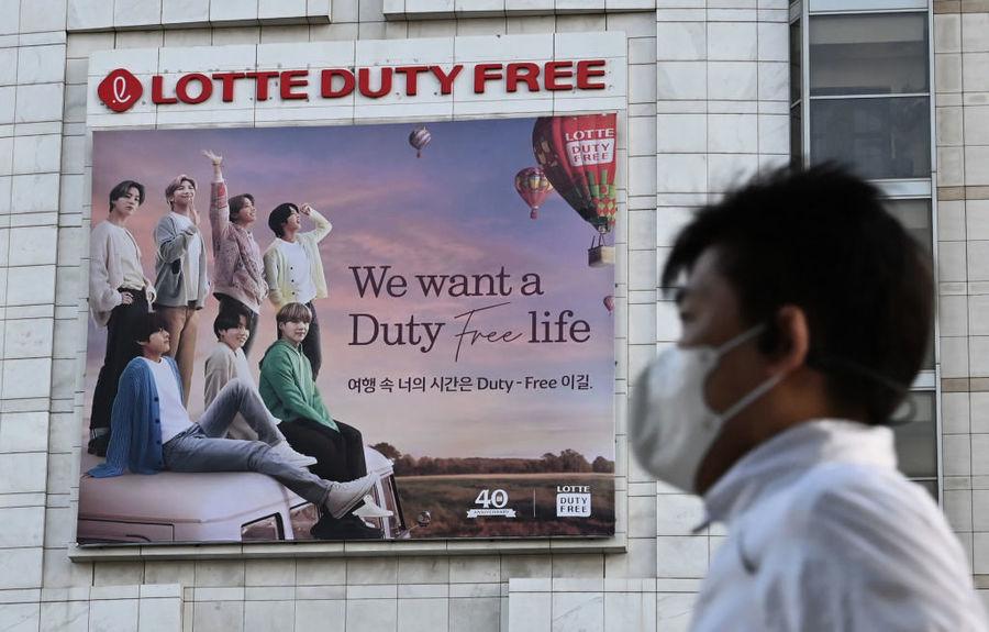 韓國8月零售銷售量按年增長3.8% 免稅店升4.1%