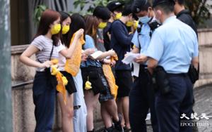 21人黃大仙祠外疑參與大學迎新營 被票控違599G