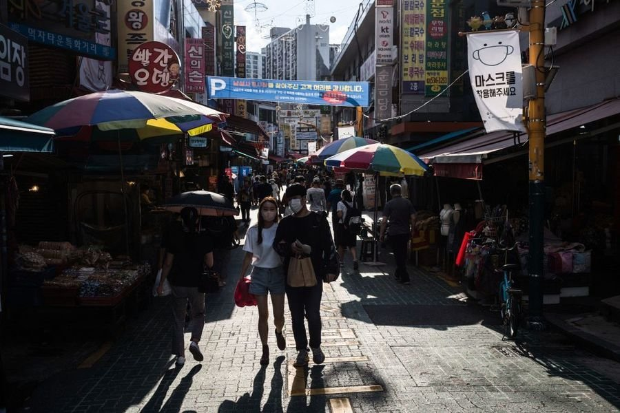 韓國9月消費者信心輕微反彈 接種達77%惟疫四波仍惡化