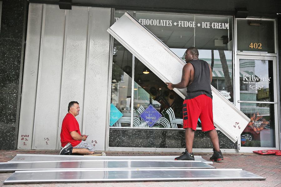 颶風直撲美東200萬人大撤離