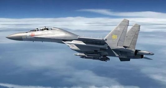 中共派39架軍機擾台再創紀錄