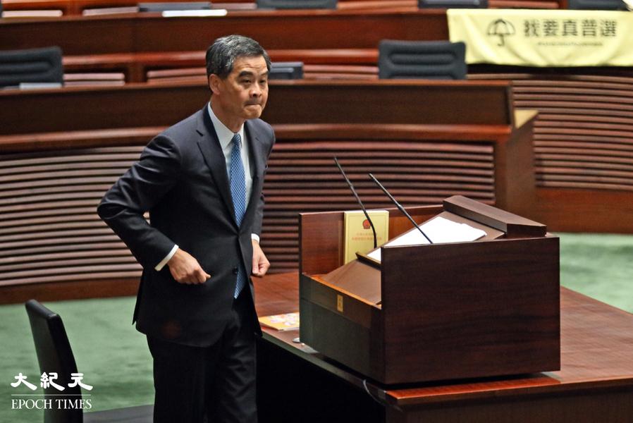 報告指梁振英賣股獲利未申報 董建華家族涉近 30 離岸公司