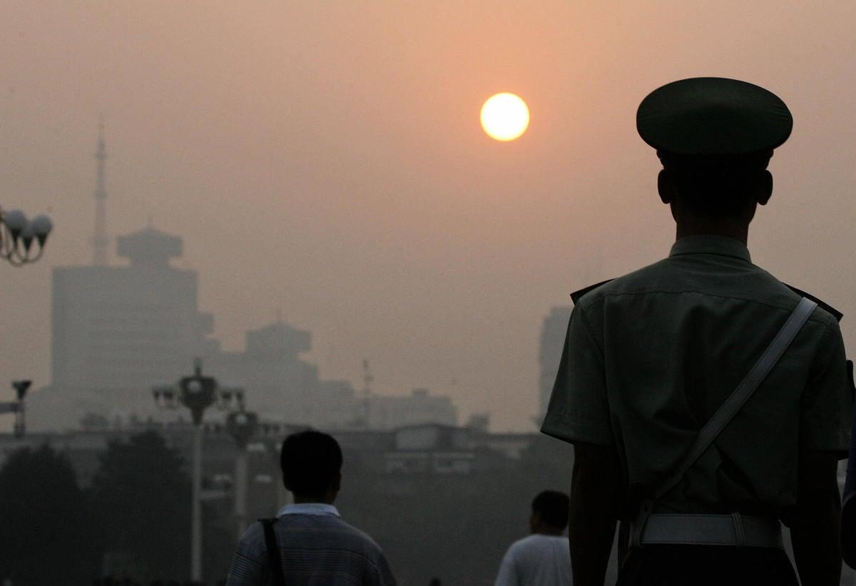 本月下旬,北京即將開六中全會。(AFP)