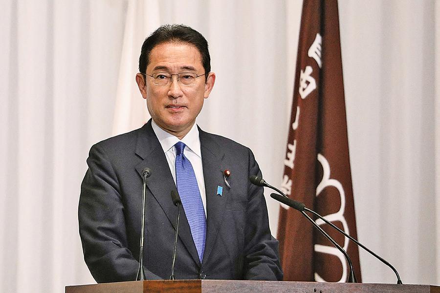 岸田文雄正式出任日本首相