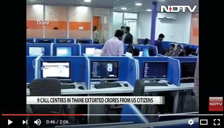 每日電話詐騙美國人15萬美元 772人印度被捕