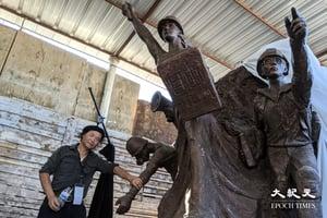 雕塑家陳維明:憂國殤之柱將被除 加州建六四紀念館延火種