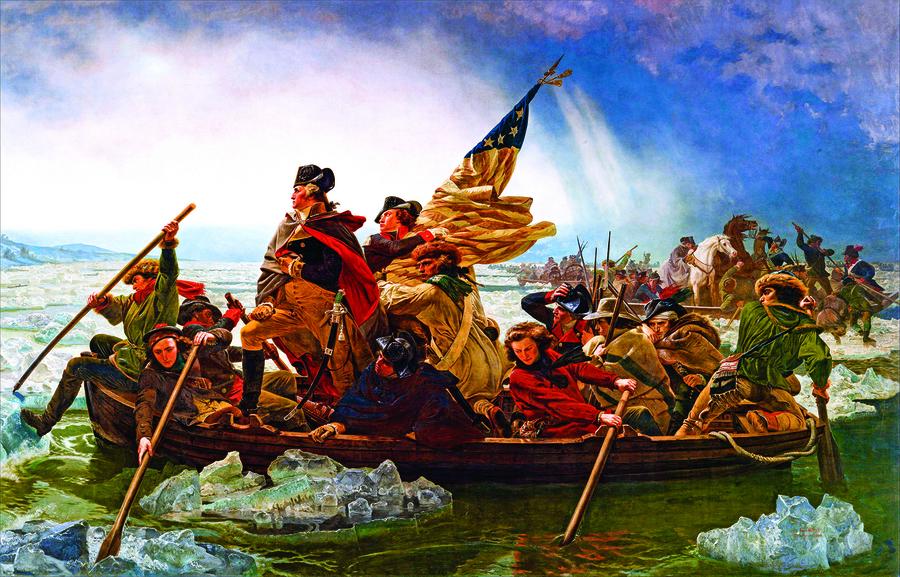 擁兵不自重  當權不戀權 華盛頓移交權力