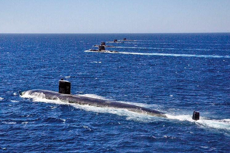 台灣力挺澳英美聯盟 支持澳洲購買核潛艇