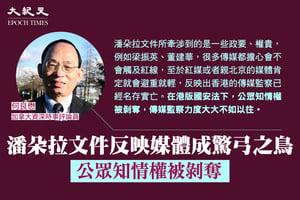 何良懋:潘朵拉文件港媒成驚弓之鳥 公眾知情權被剝奪