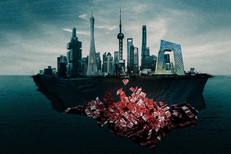 中國地方債務驚人 或引發企業倒閉潮