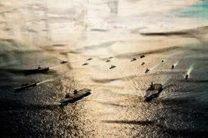 【軍事熱點】四航母編隊現身南海 美英軍演正酣