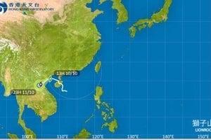 獅子山逐漸遠離本港 下周再有熱帶氣旋來襲