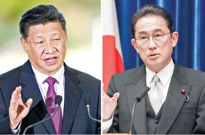 中日領袖通話 關注台海問題
