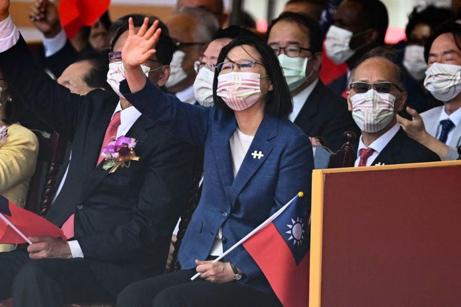 面對中共壓力 蔡英文:台灣人不會屈服