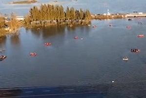 【前線採訪】河北平山洩洪 一企業班車墜河 14人死亡