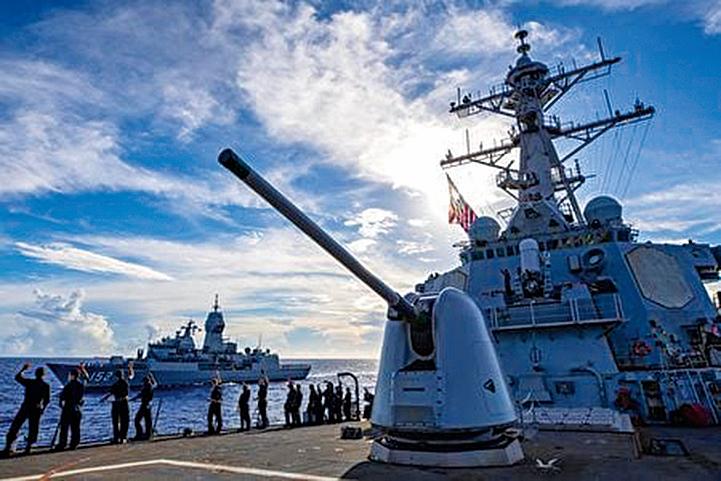 美日印澳再聯合軍演 航母潛艦齊聚孟加拉灣