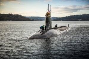 核潛艇碰撞意外曝光美軍動向 南海水下備戰正酣