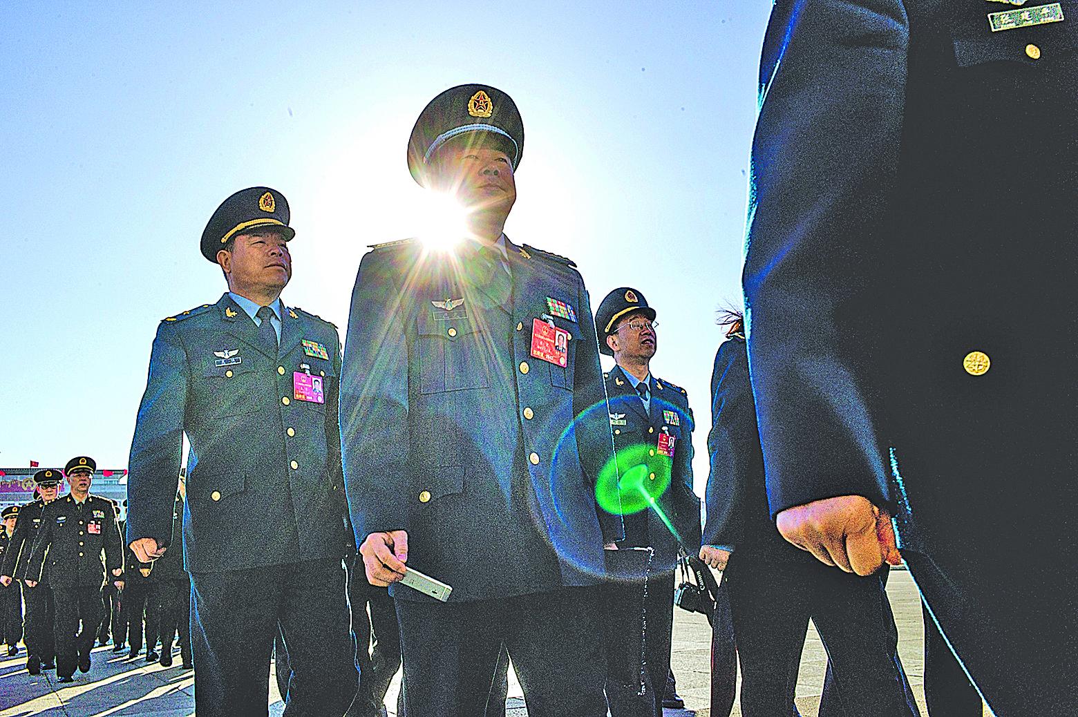 習近平十八大上台後,4年間已晉陞了103名中將。(Getty Images)