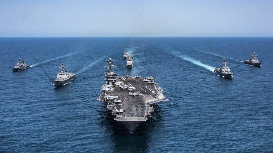 美日印澳聯合軍演 英航母助陣五國之盾聯防軍演