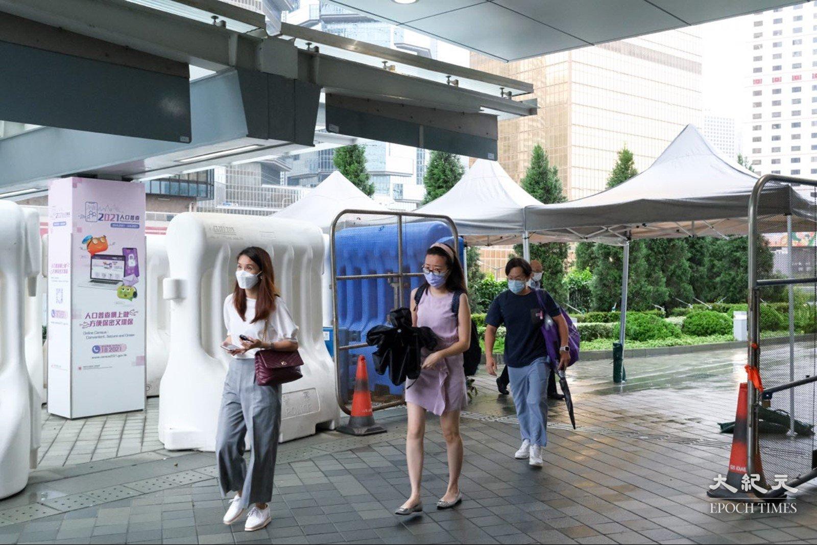 政府預計明年將《香港國安法》納入公務員《基本法》考核範圍內。(朗星/大紀元)