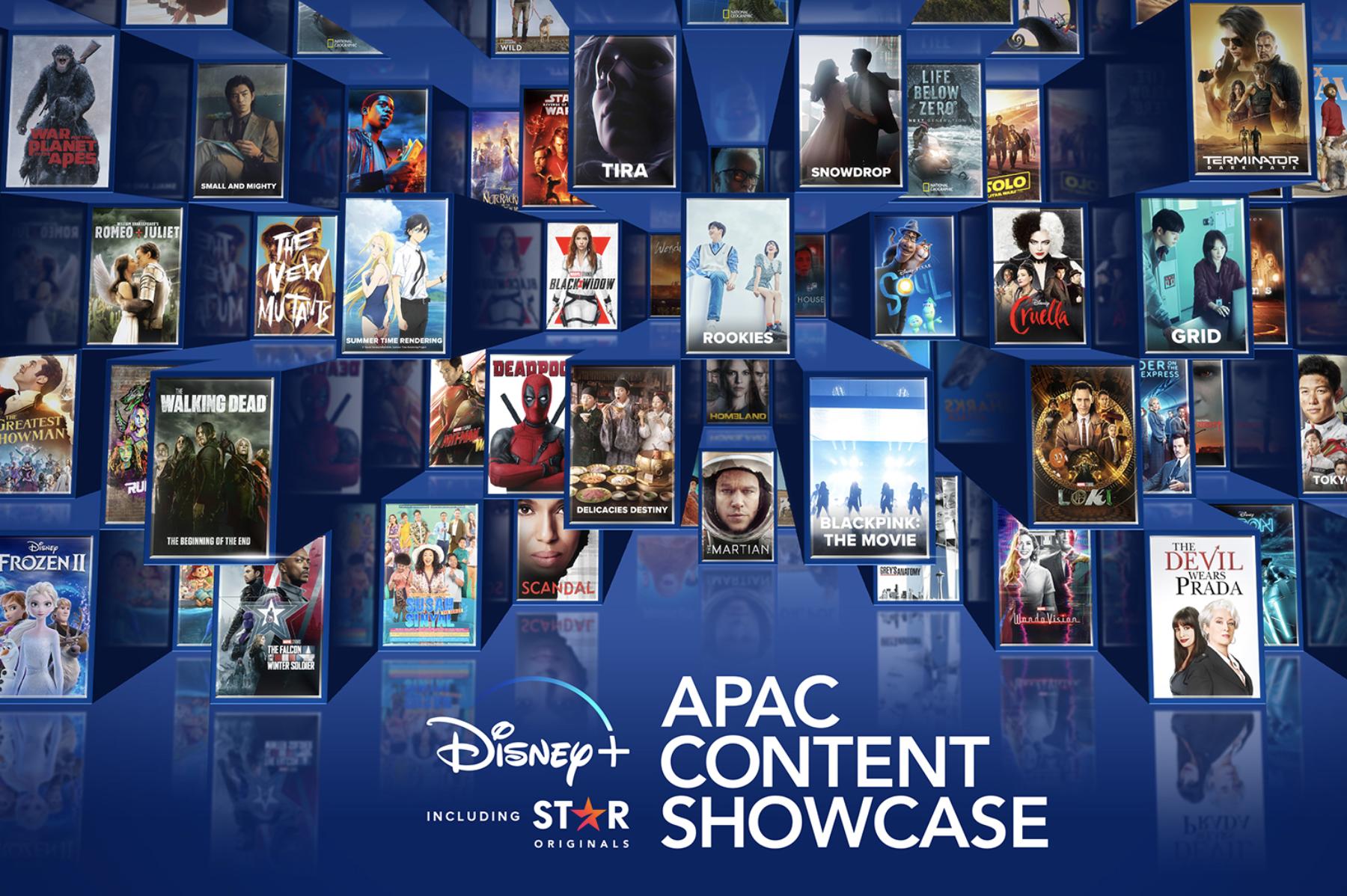 Disney+將於11月16日登陸香港,華納迪士尼公司於14日亞太區內容線上發布會公布數部亞太區本地作品。(華特迪士尼公司提供)