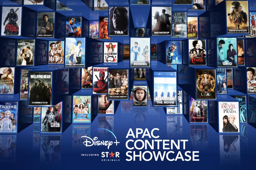 Disney+下月16日登陸香港  推出超20部亞太區本地作品