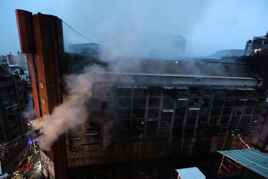 【更新】高雄「城中城」大樓火警46死41傷  不排除有人為因素