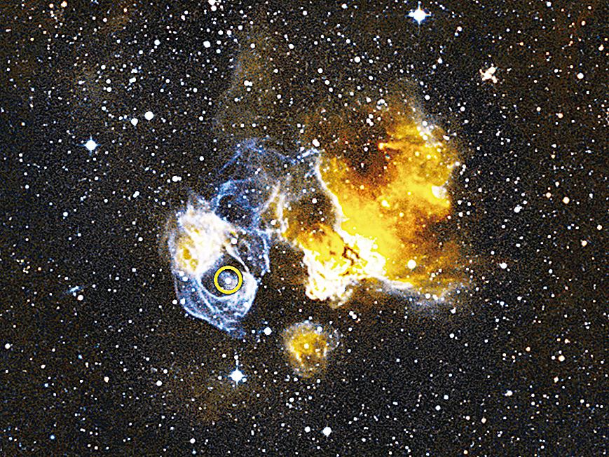 科學家發現大麥哲倫星系中的伽瑪射線雙星系統。
